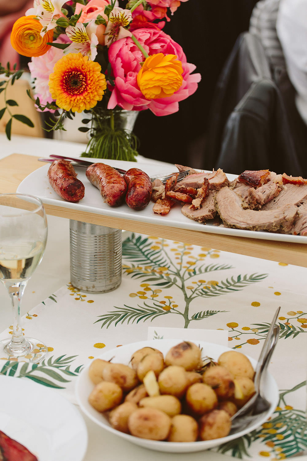 Sharing Food Platter Grazing Table Glynde Place Wedding Sarah London Photography