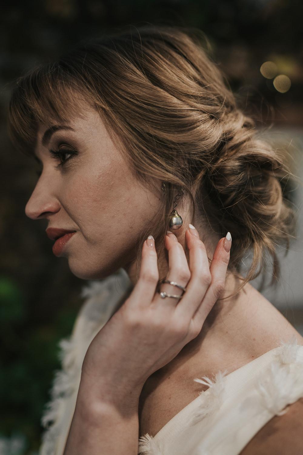 Bride Bridal Jewellery Accessories Grey Wedding Ideas Grace Elizabeth