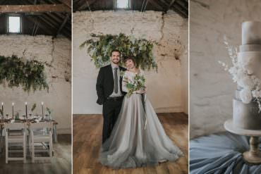 Grey Wedding Ideas Inspired by Cloudy Skies