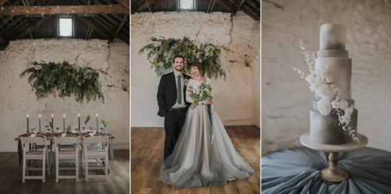 Grey Wedding Ideas Grace Elizabeth