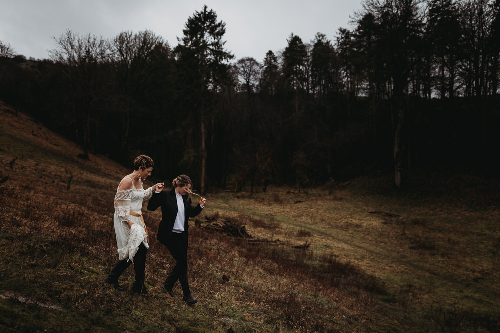 LGBTQ+ Elopement Thyme Lane Photography