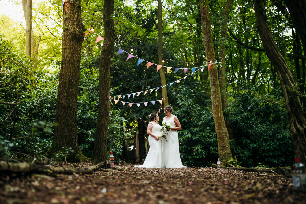 Lila's Wood Wedding Two-D Photography