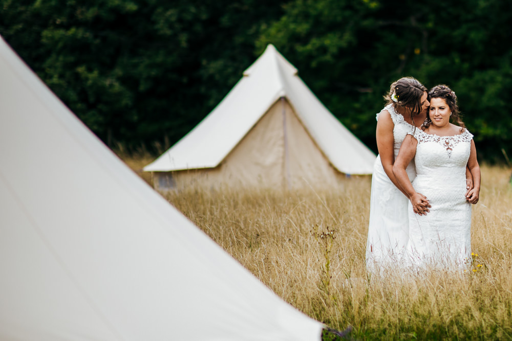 Glamping Bell Tents Lila's Wood Wedding Two-D Photography