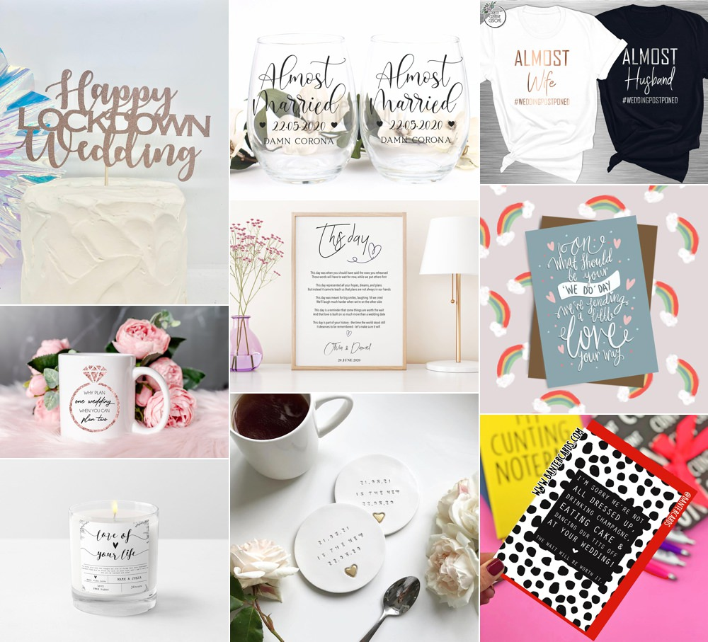 Lockdown Wedding Ideas Gifts Presents Fun Touches Whimsical Wonderland Weddings
