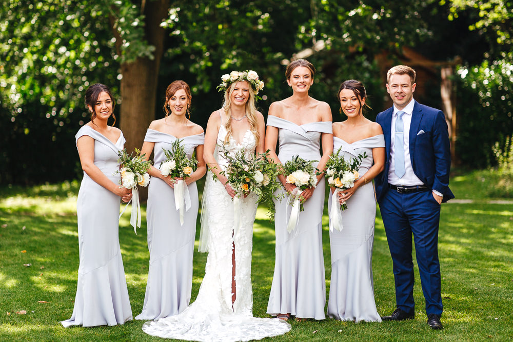 Bridesmaids Bridesmaid Dress Dresses Grey Millbridge Court Wedding Kirsty Mackenzie Photography