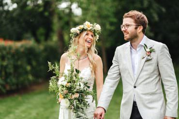 Pretty Botanical Boho Vibe Summer Wedding