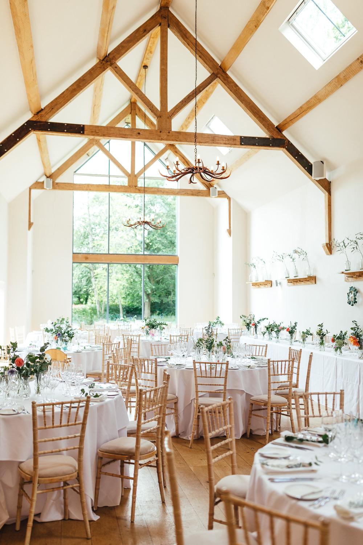 Barn Reception Millbridge Court Wedding Kirsty Mackenzie Photography