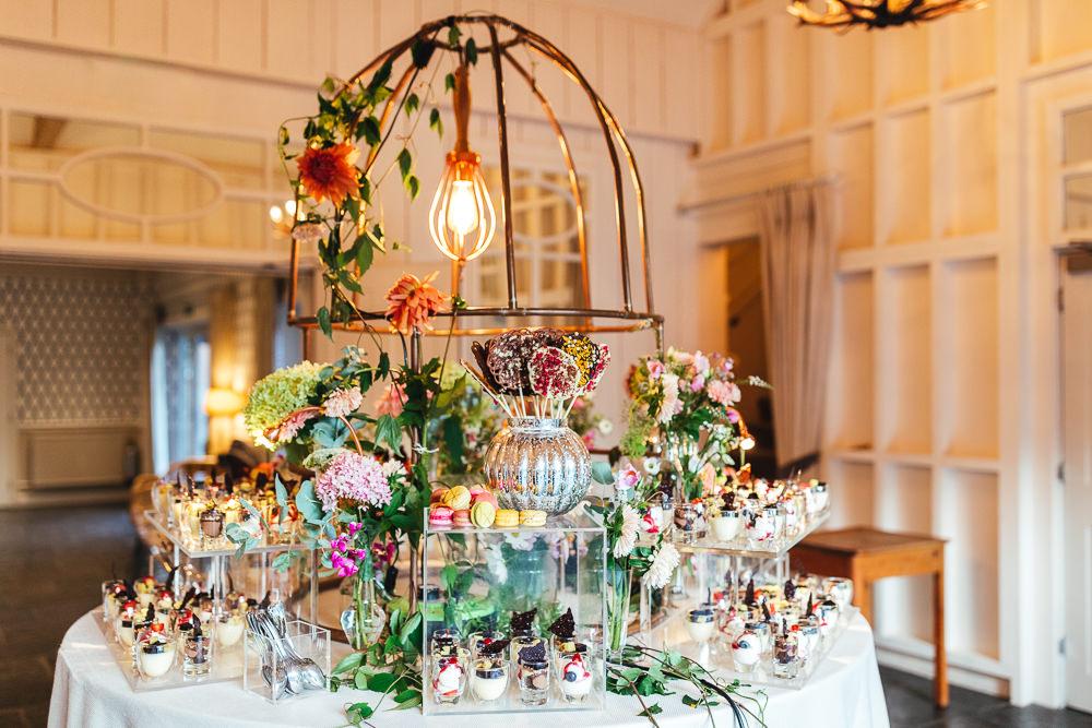 Food Catering Table Dessert Grazing Millbridge Court Wedding Kirsty Mackenzie Photography