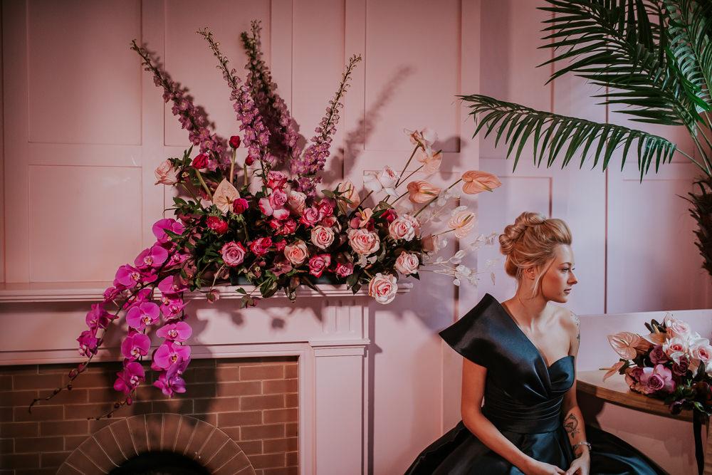 Modern Pink Wedding Ideas Aurora Grey Photography