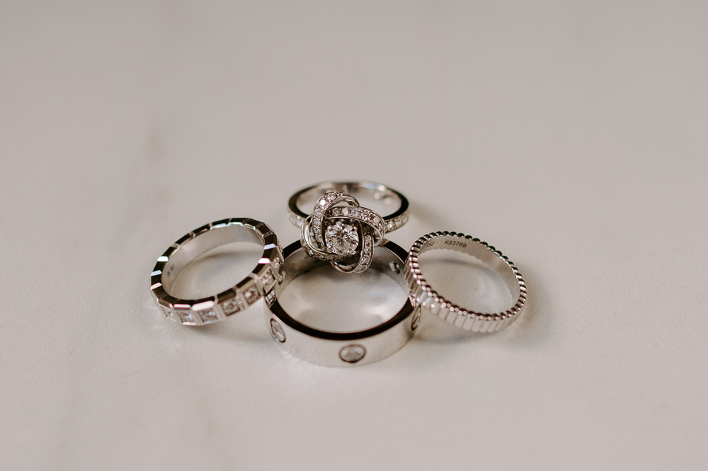 Rings Bands Engagement Santorini Wedding Phosart Photography