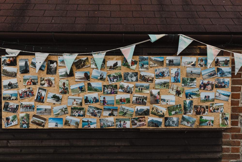 Bunting Photos Seaside Wedding Oli and Steph Photography