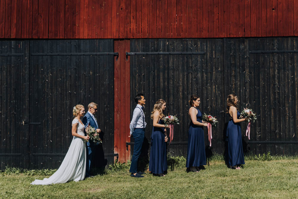 Sweden Destination Wedding Clara Cooper Photography