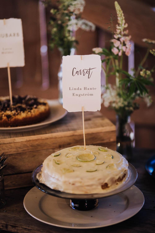 Cake Dessert Table Sweden Destination Wedding Clara Cooper Photography