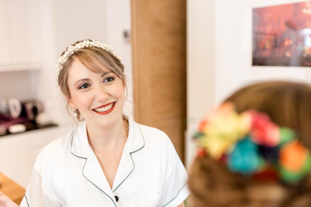 Bride Bridal Make Up Bonhams Barn Wedding Will Patrick Photography