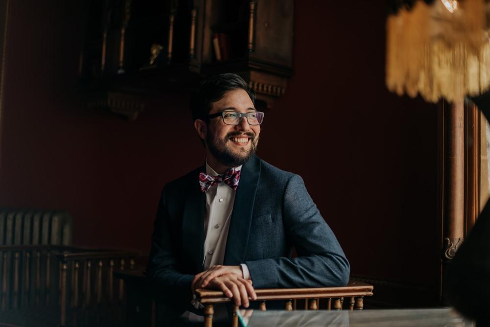 Groom Groomsmen Suit Grey Bow Tie California Wedding Wanderlust Creatives