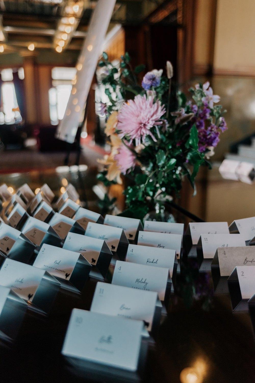 Escort Card Table California Wedding Wanderlust Creatives