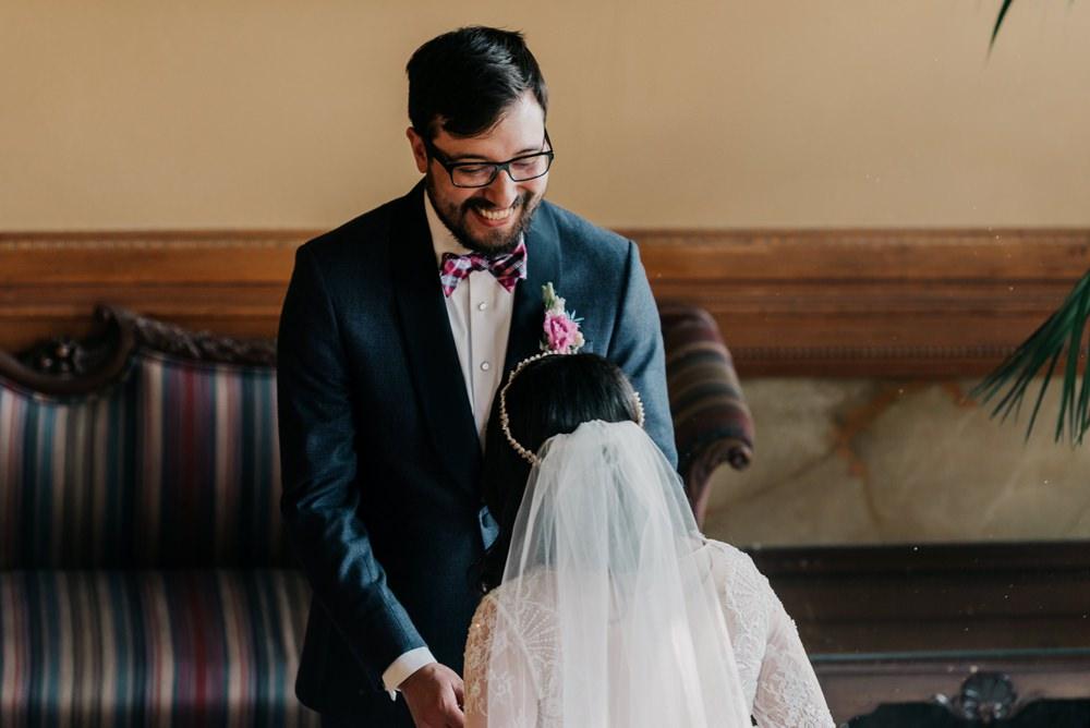 First Look California Wedding Wanderlust Creatives