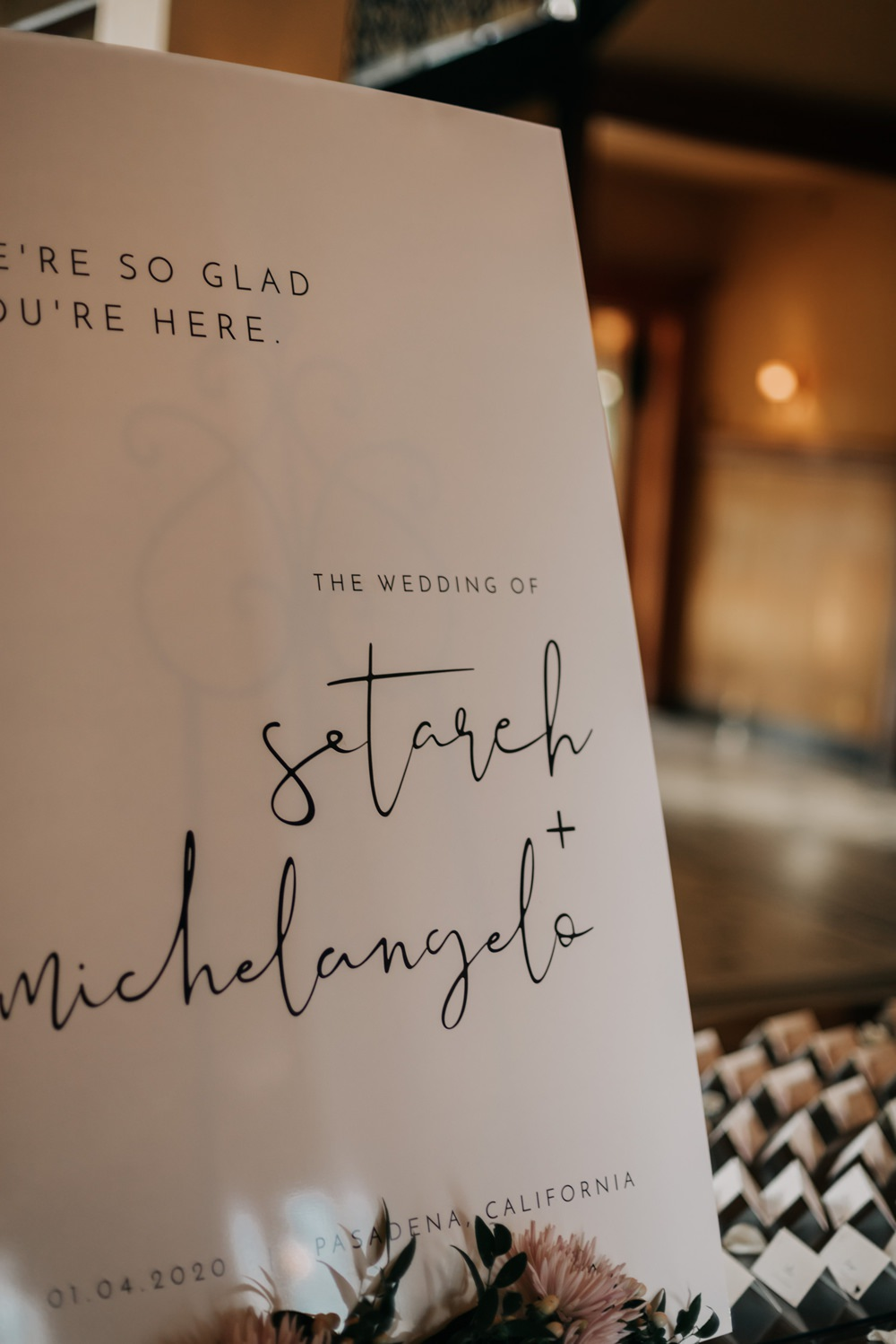 Welcome Sign Signs Signage Calligraphy California Wedding Wanderlust Creatives