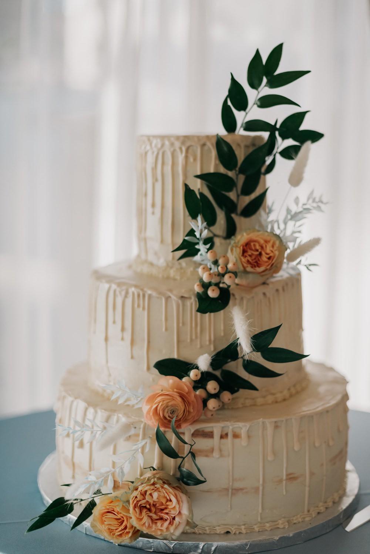 Drip Cake Flowers California Wedding Wanderlust Creatives