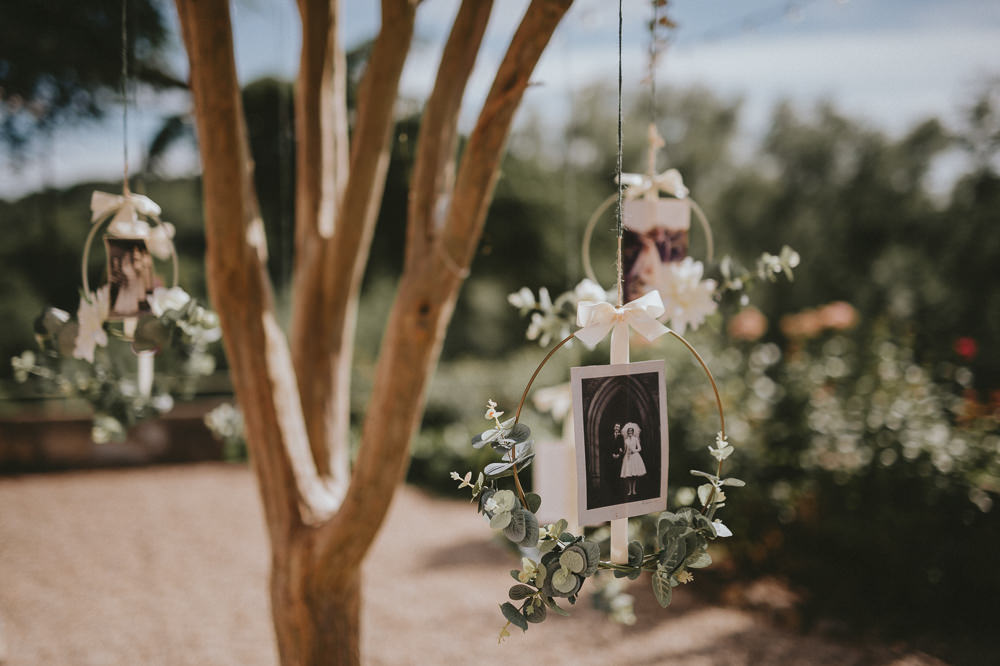 Hanging Flowers Decor Chateau Lagorce Wedding Flawless Photography