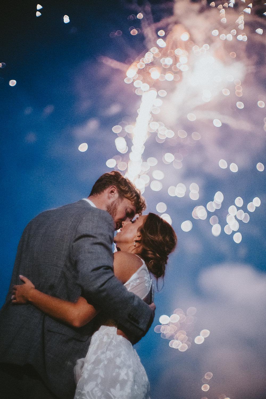Fireworks Chateau Lagorce Wedding Flawless Photography