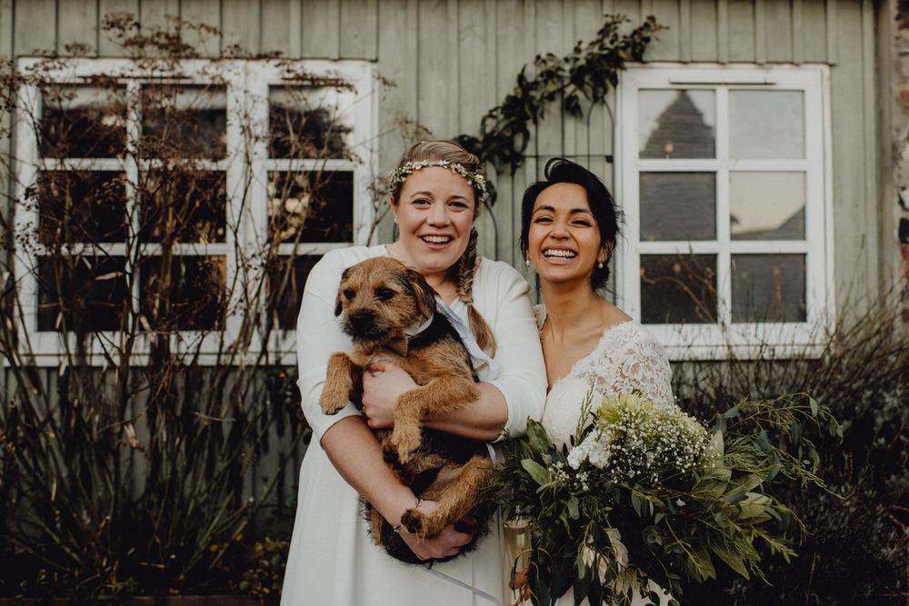 Dog Pet Comrie Croft Wedding Neil Thomas Douglas
