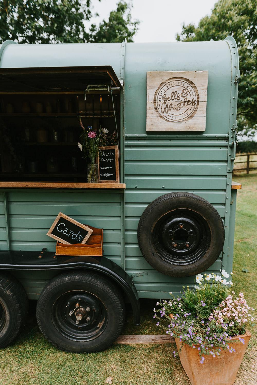 Horsebox Bar Drinks Truck Country Festival Wedding Jonny Gouldstone Photography