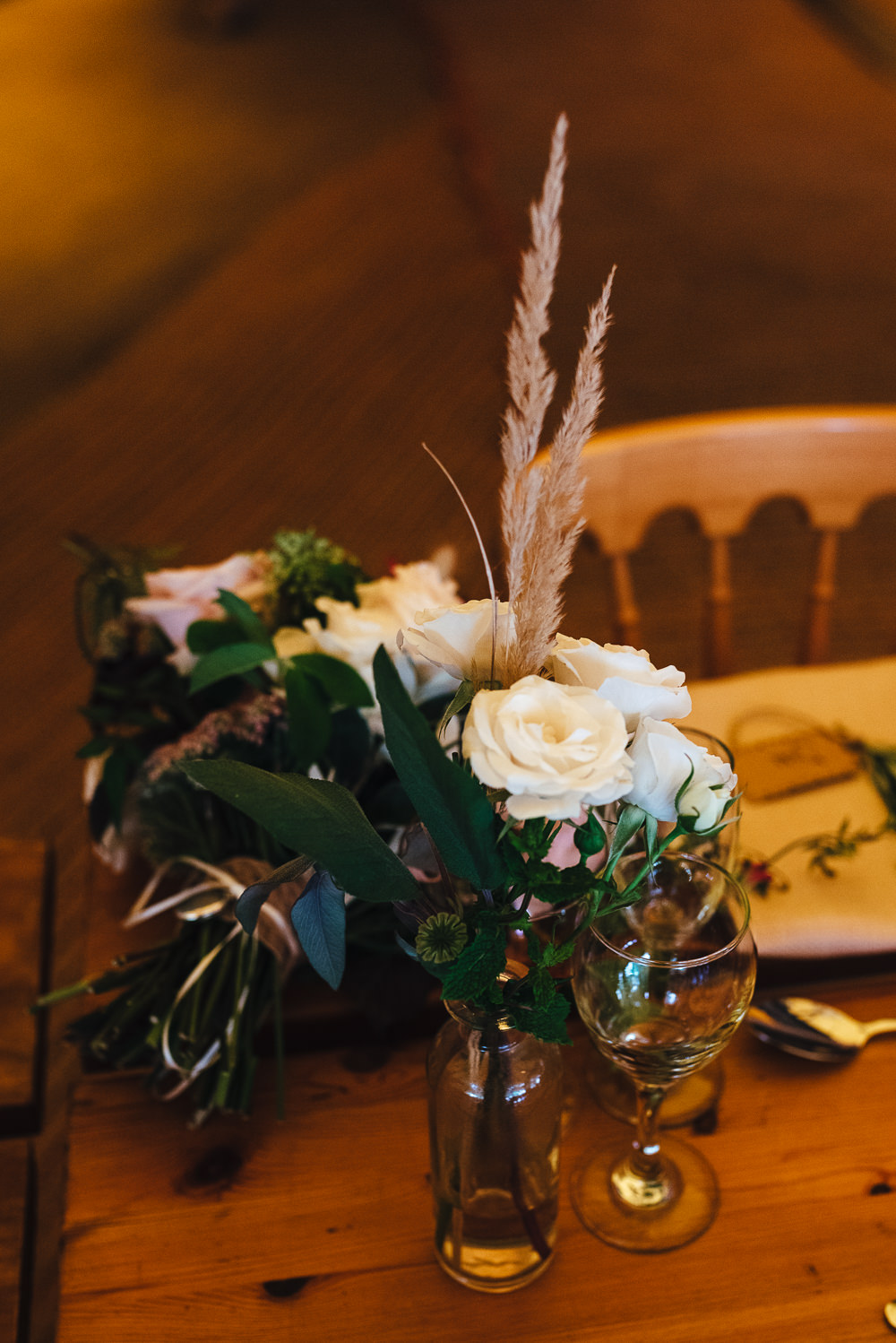 Tipi Decor Centrepiece Long Tables Flowers Pampas Grass Festival Party Wedding Kirsty Mackenzie Photography