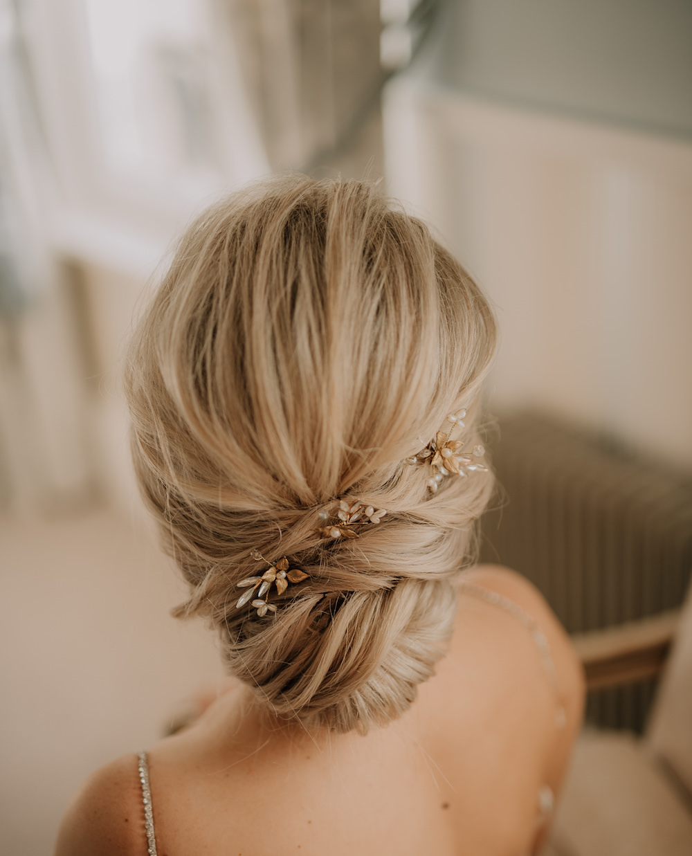 Bride Bridal Hair Style Up Do France Elopement Ideas Pierra G Photography