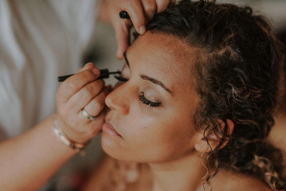 Bride Bridal Make Up Happy Valley Wedding Alice Cunliffe Photography