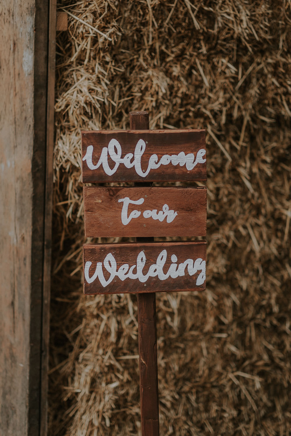 Sign Signs Signage Happy Valley Wedding Alice Cunliffe Photography