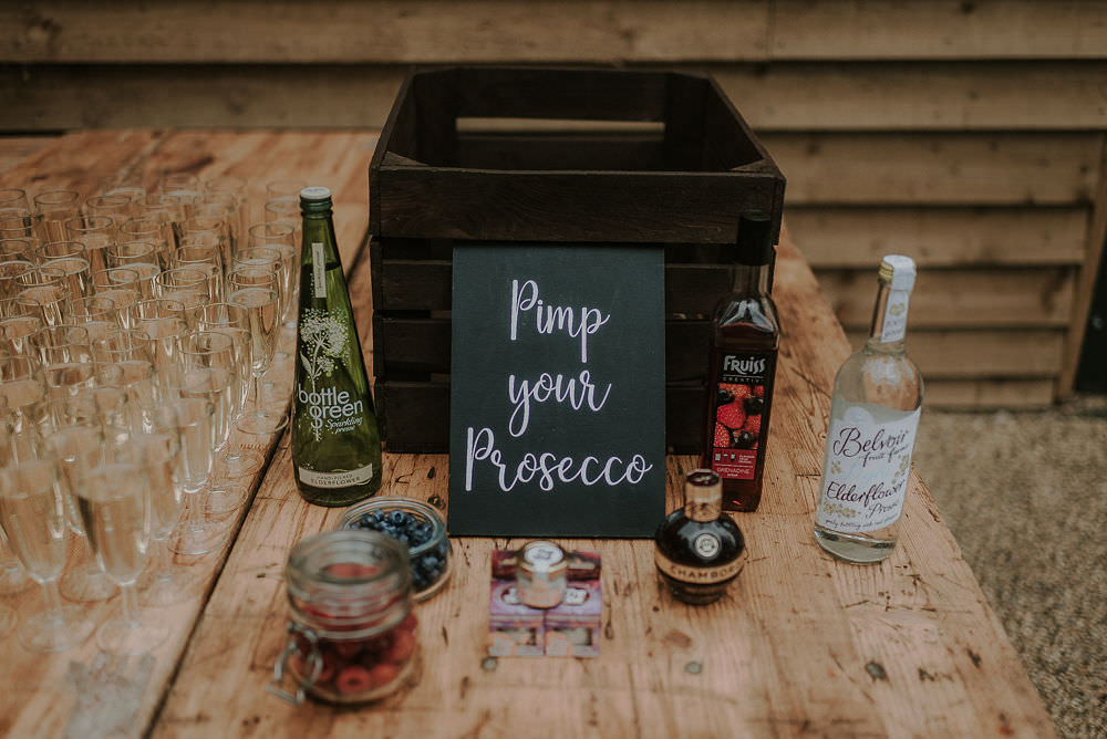 Pimp Your Prosecco Happy Valley Wedding Alice Cunliffe Photography