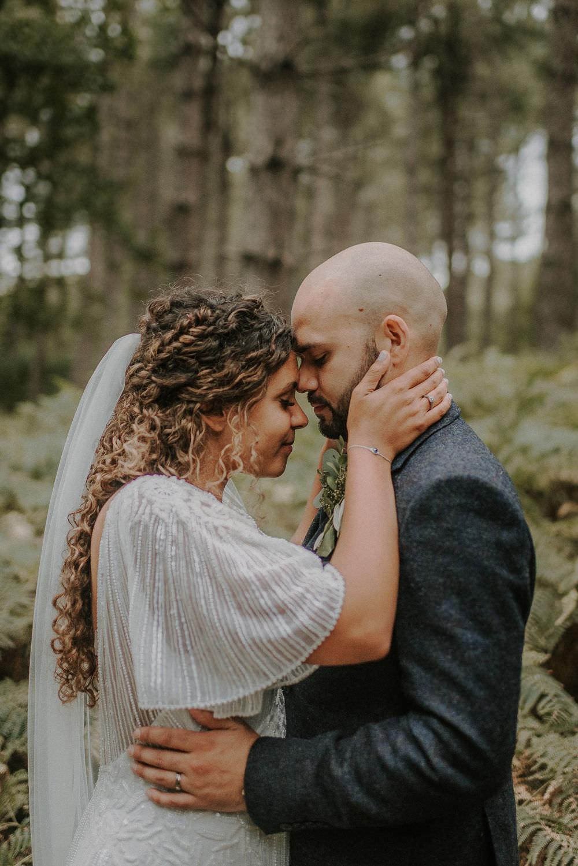 Bride Bridal Hair Style Long Veil Happy Valley Wedding Alice Cunliffe Photography