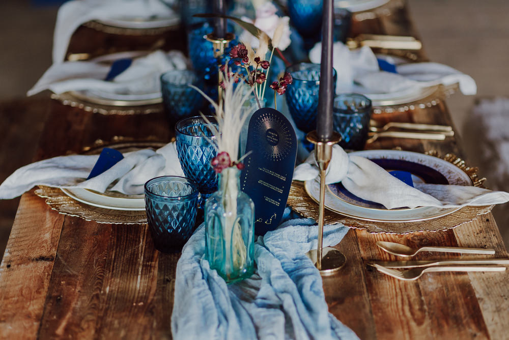 Navy Gold Wedding Ideas Gina Fernandes Photography