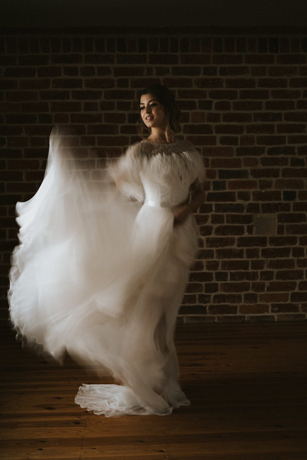 Dress Gown Bride Bridal Strapless Ballet Wedding Ideas Henry Lowther Photographer