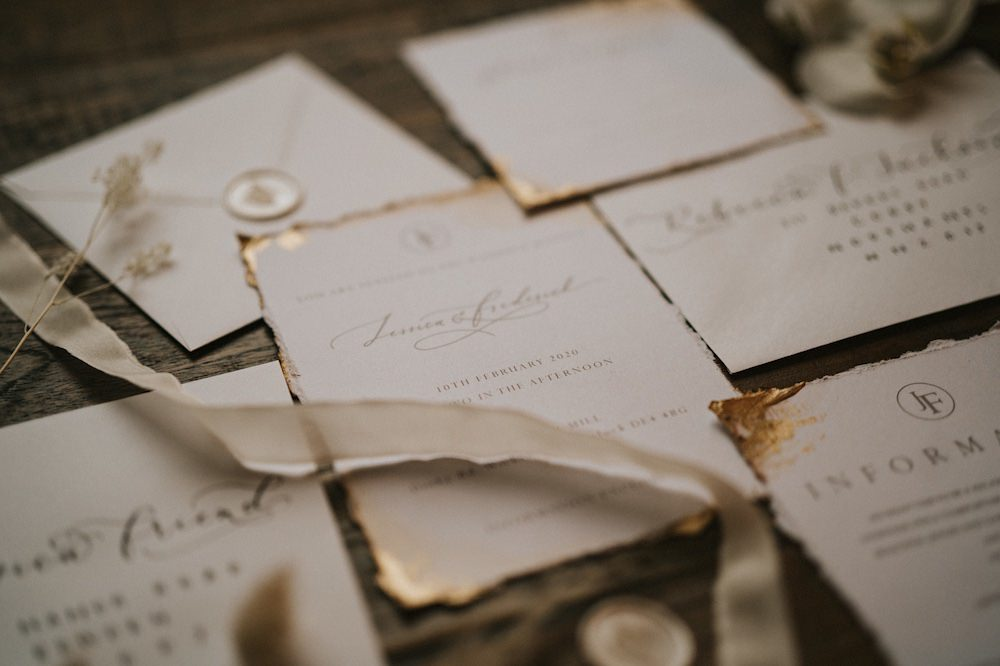 Stationery Invite Invitations Ballet Wedding Ideas Henry Lowther Photographer