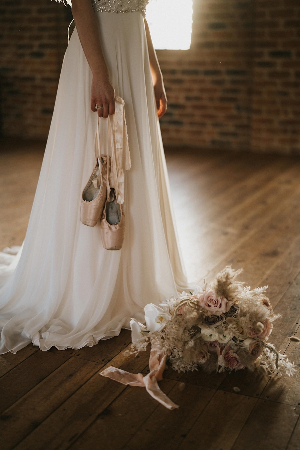 Shoes Bride Bridal Ballet Wedding Ideas Henry Lowther Photographer