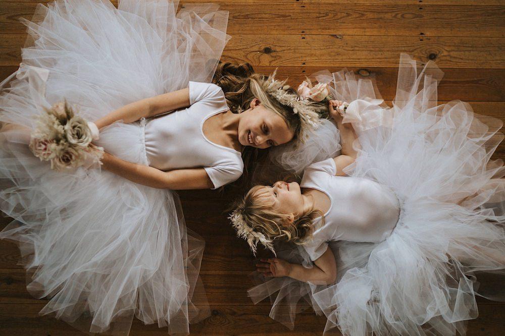 Flower Girl Dress Tutu Flowers Ballet Wedding Ideas Henry Lowther Photographer