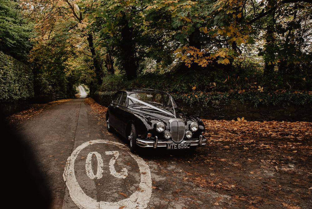 Classic Car Transport Family Farm Wedding Janine Kirkwood Photography