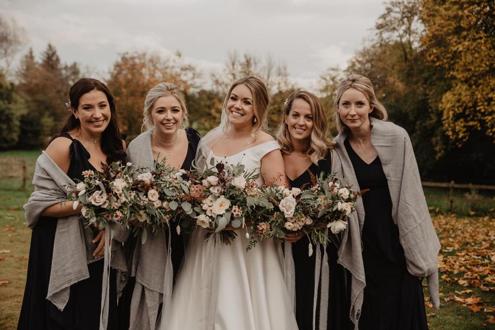 Bridesmaids Bridesmaid Dress Dresses Blue Family Farm Wedding Janine Kirkwood Photography