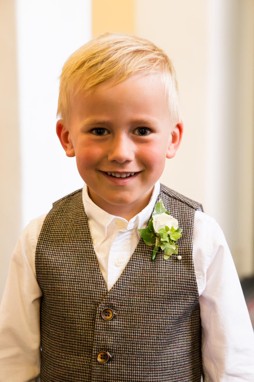 Page Boy Fullerton Estate Wedding Hannah Larkin Photography