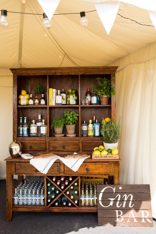 Gin Bar Decor Fullerton Estate Wedding Hannah Larkin Photography
