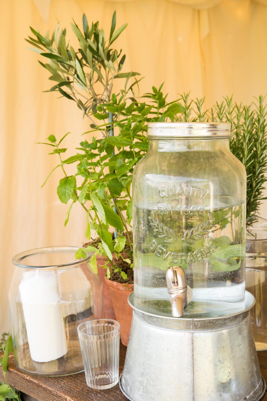 Drink Dispenser Fullerton Estate Wedding Hannah Larkin Photography