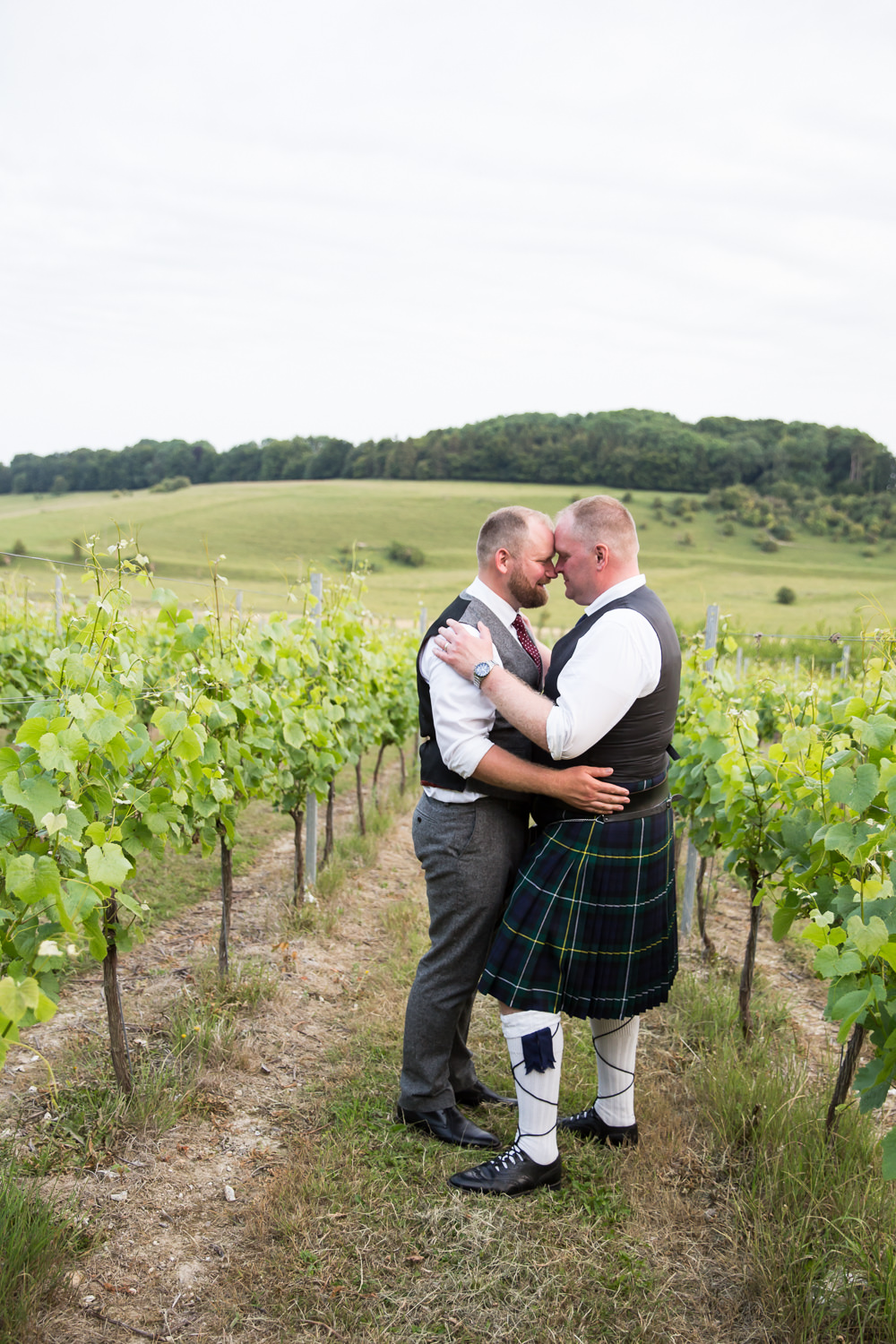 Midsummer Country Marquee Vineyard Wedding