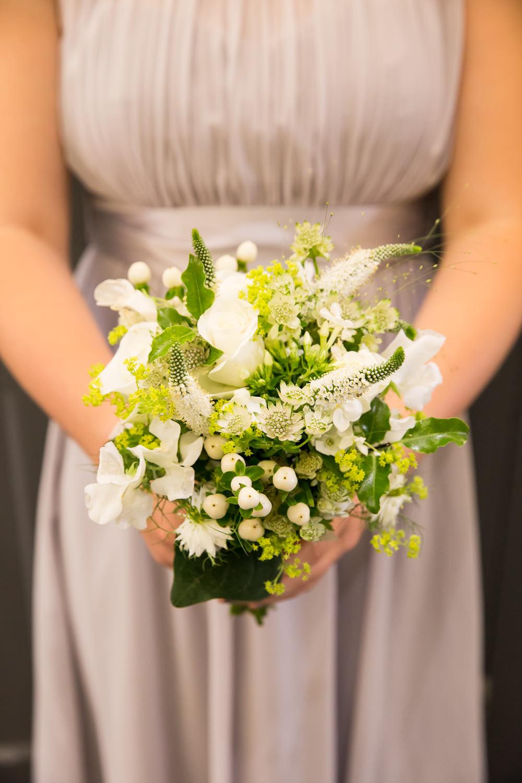 Bridesmaid Bouquet Flowers Fullerton Estate Wedding Hannah Larkin Photography
