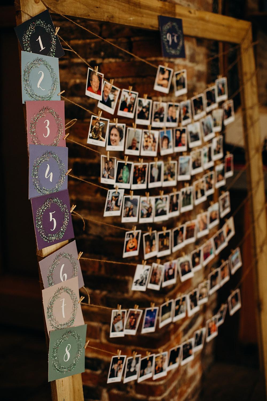 Table Plan Seating Chart Photos Hornington Manor Wedding Richard Skins Photography