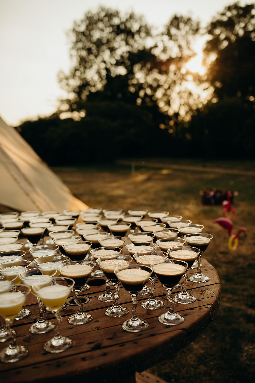 Cocktails Hornington Manor Wedding Richard Skins Photography