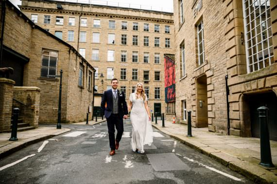 Industrial Mill Wedding Hayley Baxter Photography