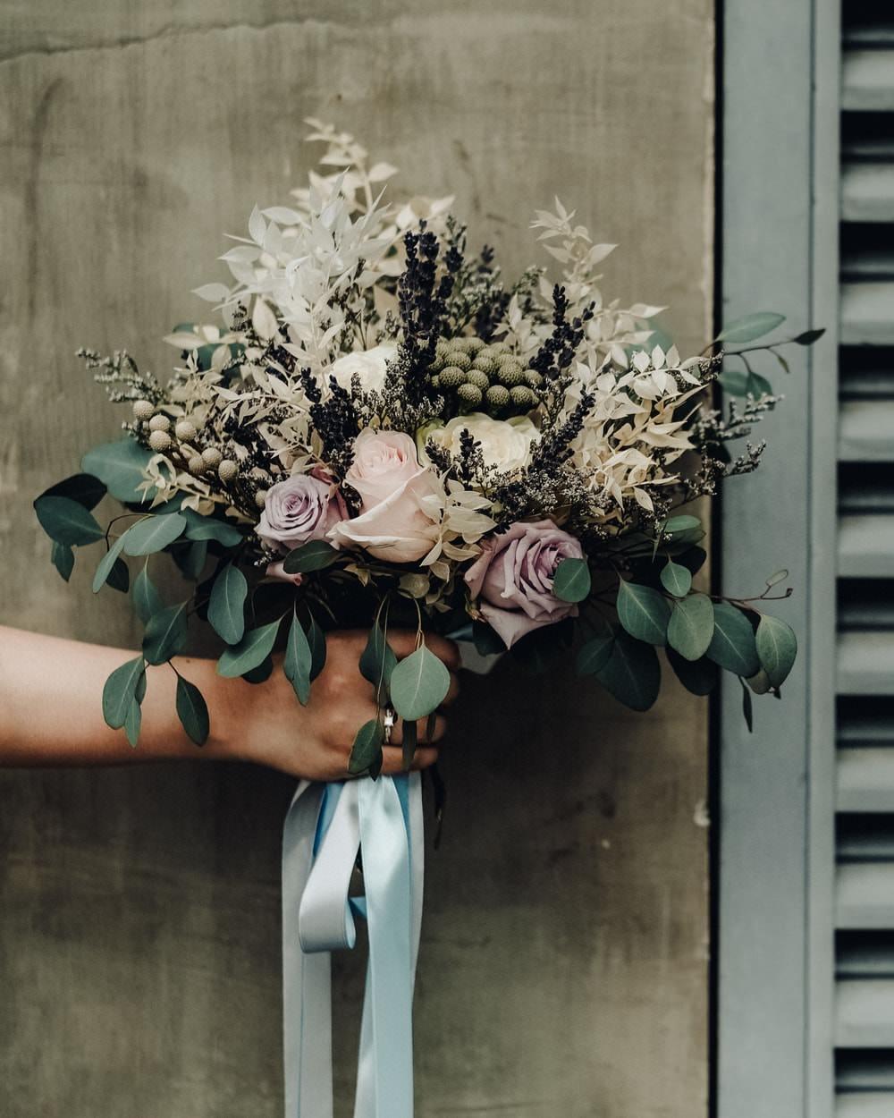 Bouquet Flowers Bride Bridal Eucalyptus Pink Rose Philippines Wedding The Backyard Studios