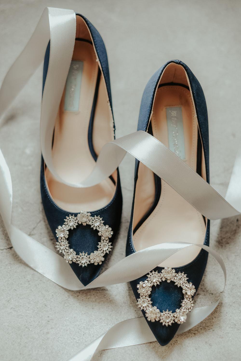 Blue Shoes Bride Bridal Philippines Wedding The Backyard Studios